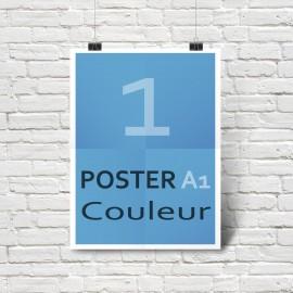 Affiche/Poster en couleurs A1