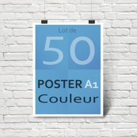 Lot de 50 affiches/posters A1