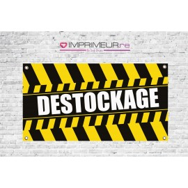 Banderole destockage