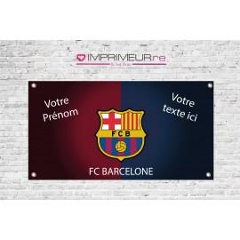 Banderole FC Barcelone