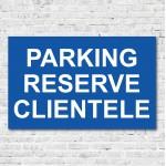 Parking réservé clientèle