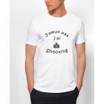 "Tee-shirt : "" J'peux pas j'ai shooting "" - Homme"