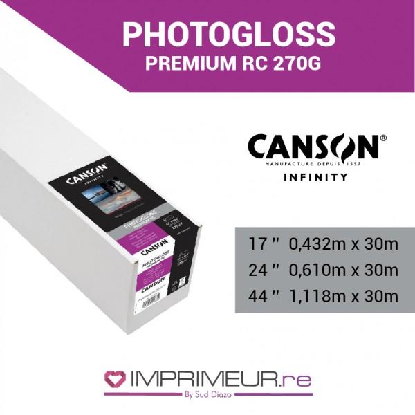 CANSON® INFINITY PHOTOGLOSS PREMIUM RC 270 G/M² - BRILLANT
