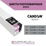 CANSON® INFINITY BARYTA PHOTOGRAPHIQUE 310 G/M²