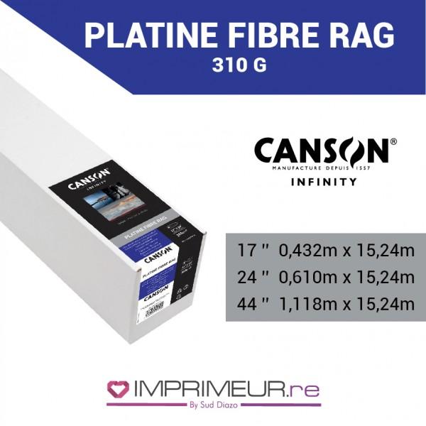 CANSON® INFINITY PLATINE FIBRE RAG 310 G/M² - SATIN
