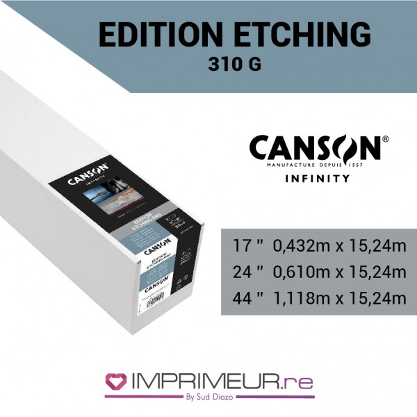 CANSON® INFINITY EDITION ETCHING RAG 310 G/M² - MAT